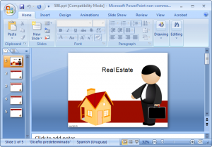 business Silhouette PowerPoint
