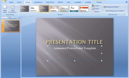 animations powerpoint ppt