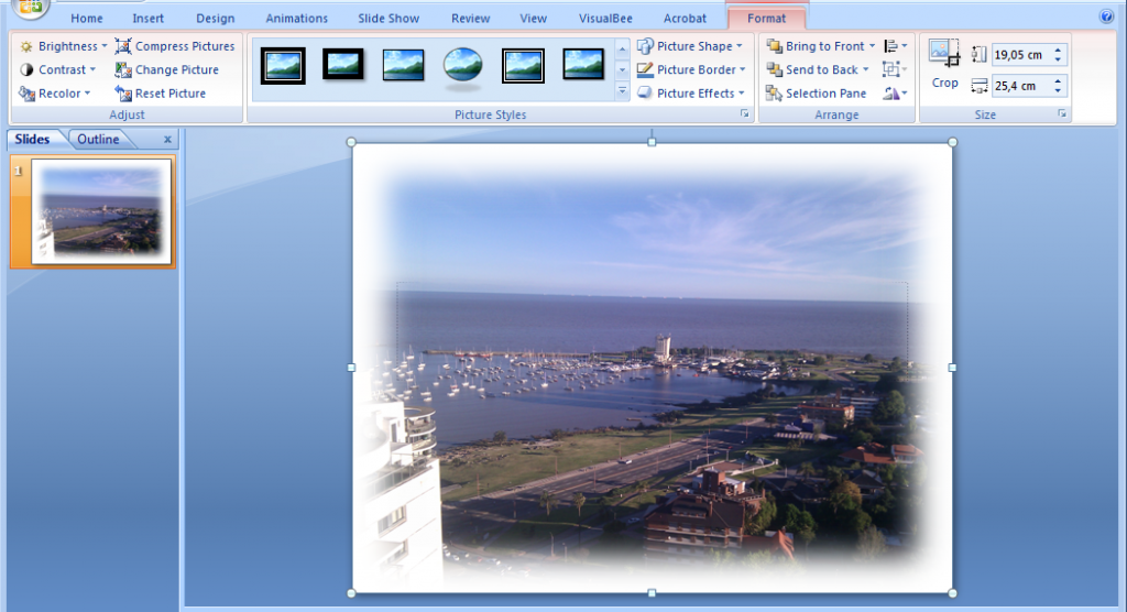 How to blur borders in powerpoint 2007 additionally you can try to apply other great effects in powerpoint 2007 toneelgroepblik Choice Image