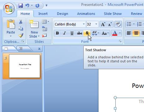 как вставить картинку в текст в powerpoint