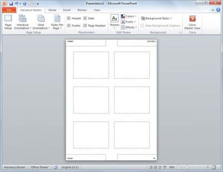 save slide master as template - how to create powerpoint slides handouts powerpoint