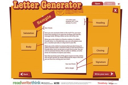 Letter generator tool | PowerPoint Presentation