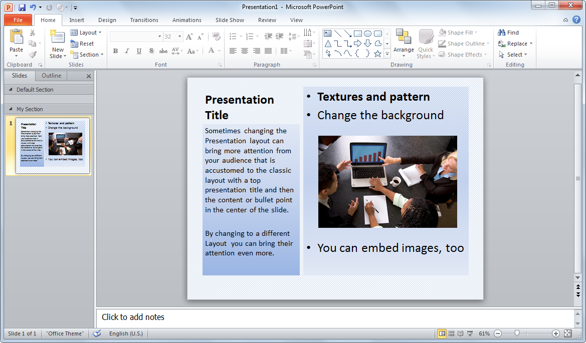Microsoft Powerpoint Presentation Templates Free Download