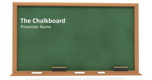... Simple PowerPoint Blackboard Presentation | PowerPoint Presentation