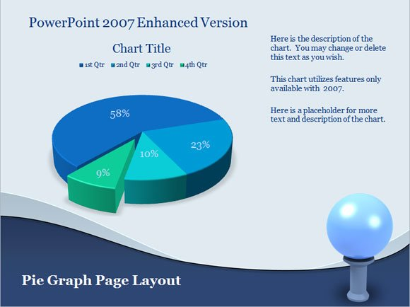 Powerpoint chart templates free download toneelgroepblik Image collections