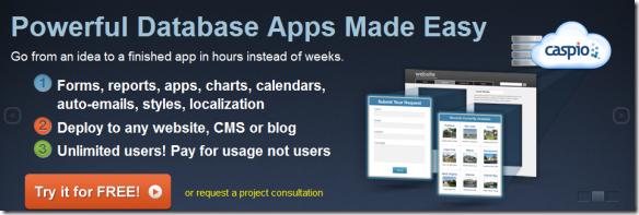 Easy Online Database Software Create Online Database Applications