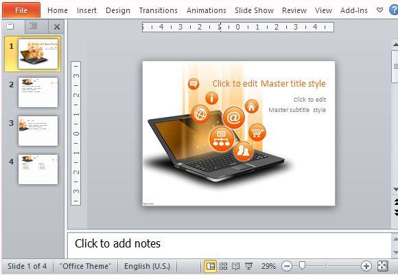 information technology powerpoint templates free   trattorialeondoro