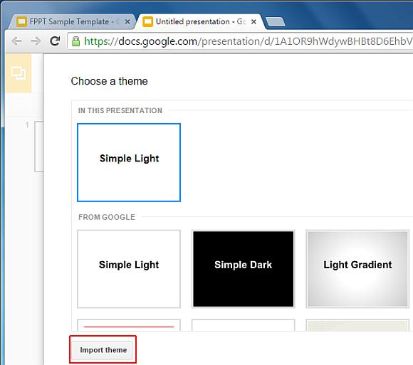 How To Import Theme & Slides in Google Slides