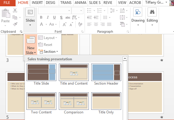 Business Sales Training Template For PowerPoint – Training Material Template