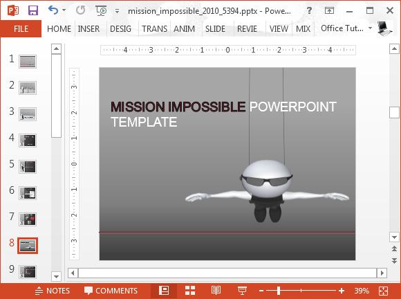 Powerpoint Animation Templates