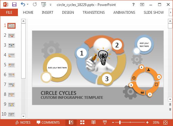 Process Flow PowerPoint Templates  SlideModelcom