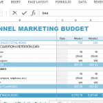 professional-and-cleanly-laid-out-channel-marketing-budget-template