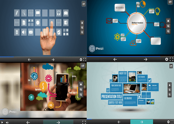 Best Zoomable Templates For Prezi
