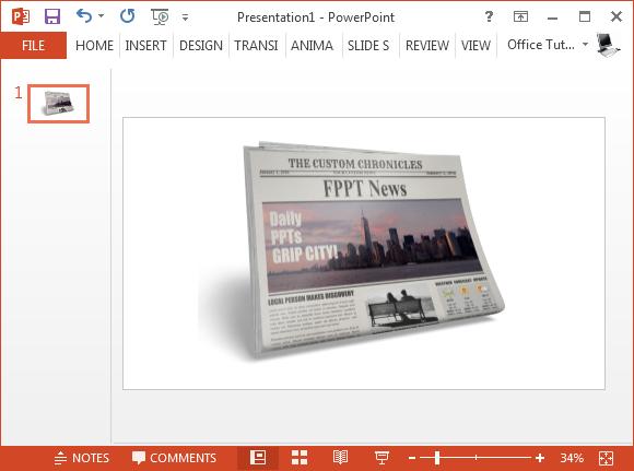 Best Newspaper Clipart For PowerPoint – Newspaper Powerpoint Template