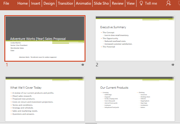 Free Sales Proposal PowerPoint Template – Product Sales Proposal Template