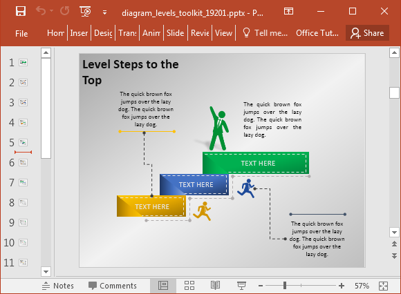 Sequence Diagram Powerpoint Template