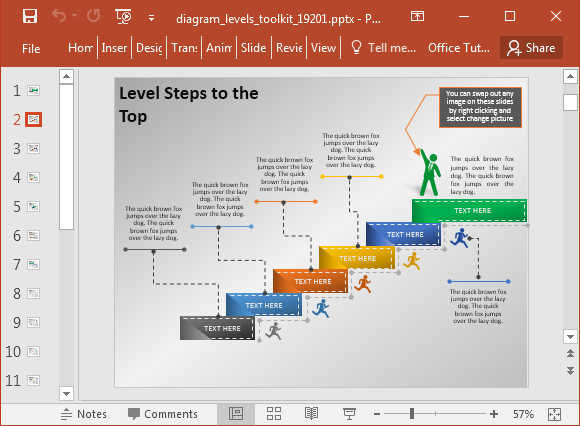 animated stage diagram maker powerpoint template