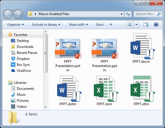 microsoft word macro enabled template