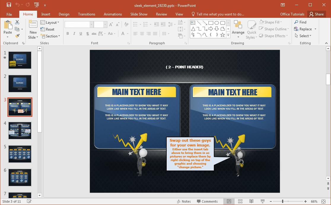 ... to download PowerPoint Presentation for Free | Jazz Presentation