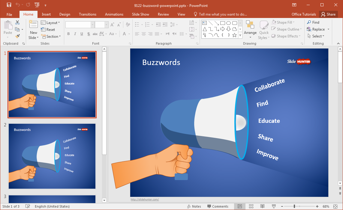 Free Editable Powerpoint Templates