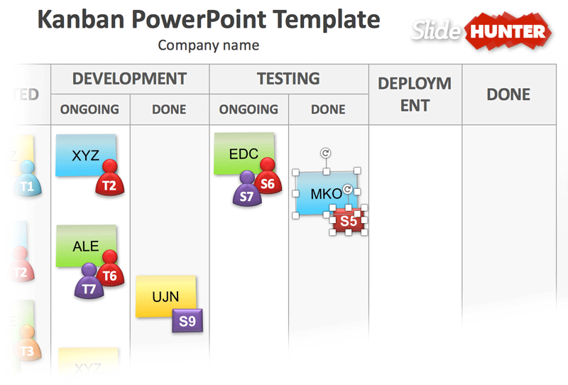 kanban-model-icons-powerpoint-template