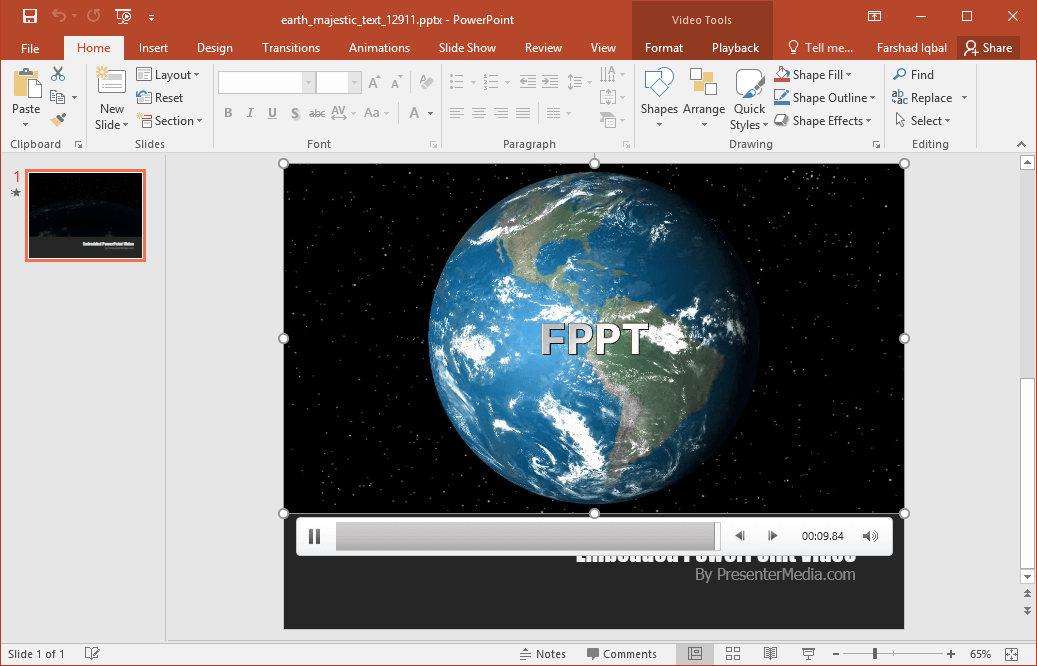 best earth designs for powerpoint presentations