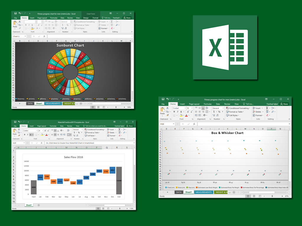 how to make better business decisions using excel 2016 charts