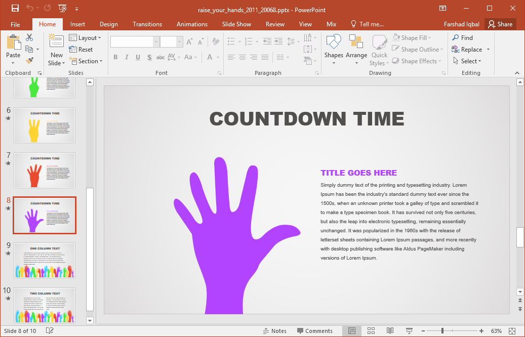 How To Make Your Own Powerpoint Template