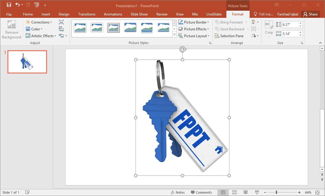 3d keys for powerpoint