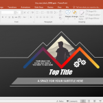 animated black powerpoint template