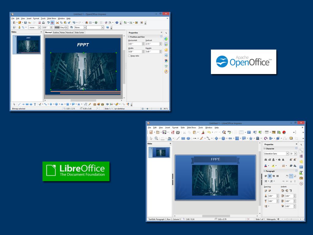 Openoffice vs libreoffice - Open office impress templates ...