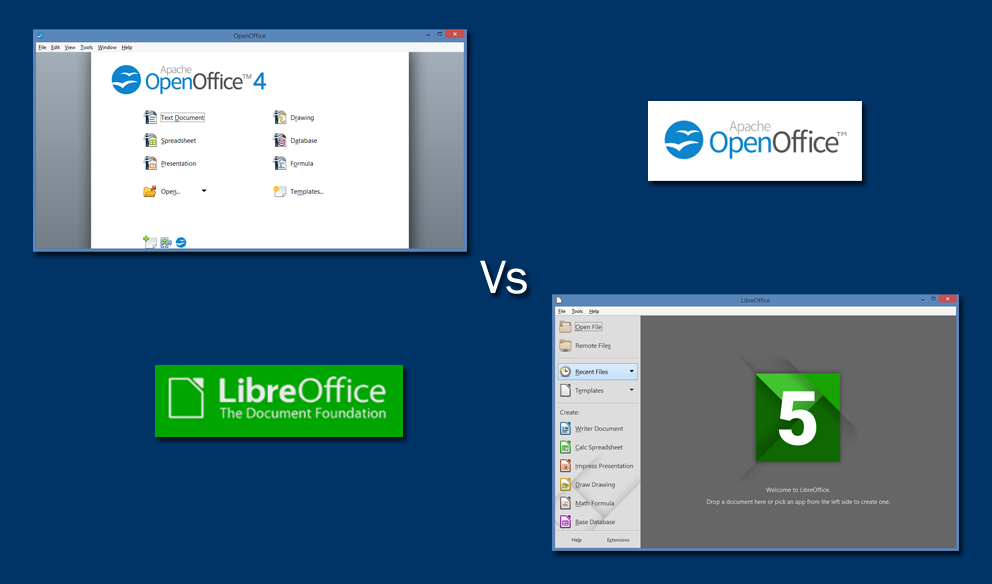 Openoffice vs libreoffice for Open office database templates