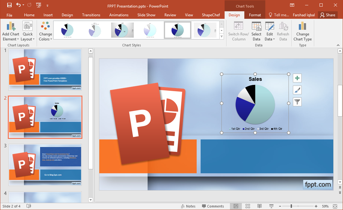 PowerPoint Diagrams Word and Brochure Templates