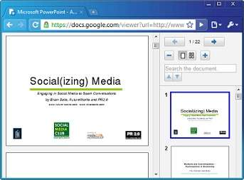 Preview PowerPoint Presentations In Google Docs Viewer - Google docs powerpoint presentation templates