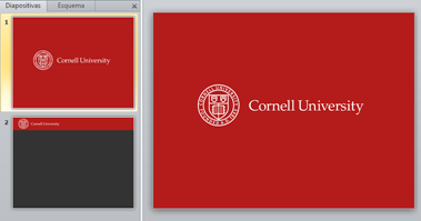 cornell powerpoint template