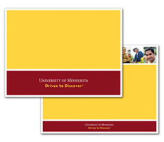 university of minnesota templates