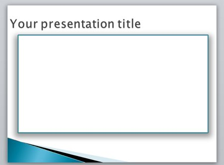 Creating A Border In Powerpoint Using Shapes