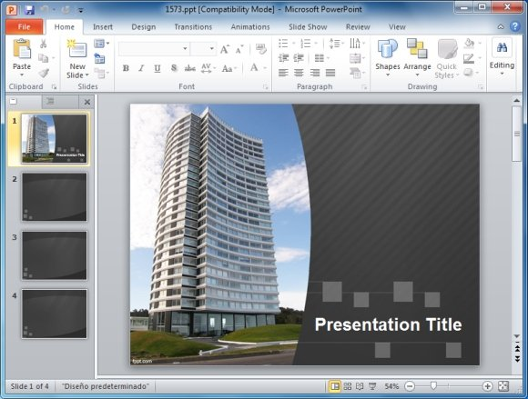Presentation templates for teachers architect powerpoint template toneelgroepblik Images