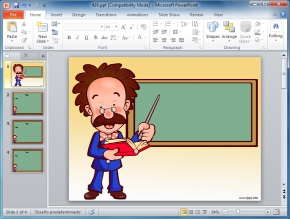 teachers powerpoint template