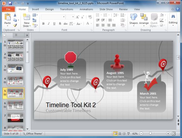 Timeline Toolkit 2 For PowerPoint