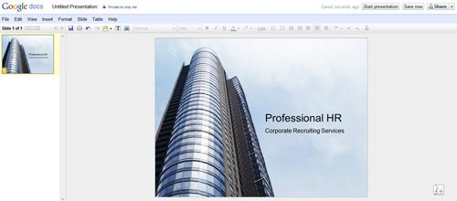 google presentation - google docs powerpoint