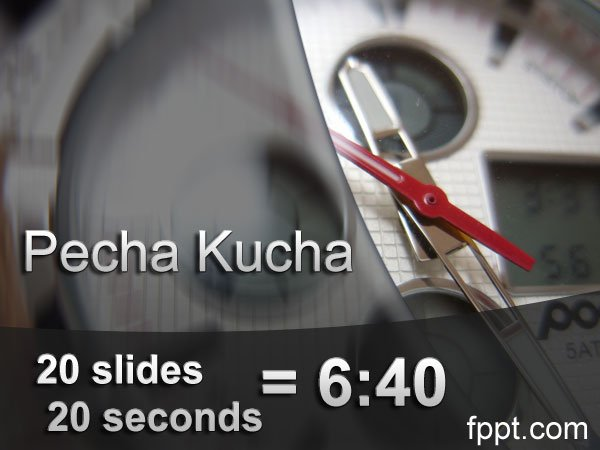 pecha kucha powerpoint template - what is pecha kucha presentation technique