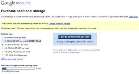 Alternatives for personal cloud storage