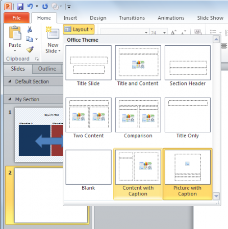 Squint Test in PowerPoint presentations