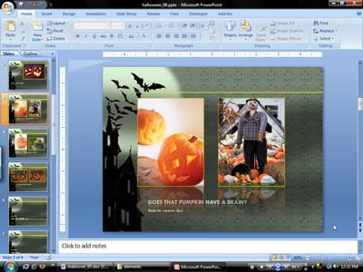 scrapbook template for powerpoint presentations, Modern powerpoint