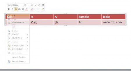 How to animate a table in PowerPoint