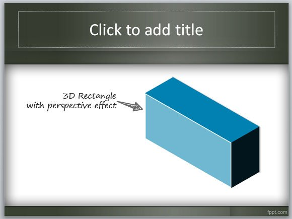 How to create a 3d box in powerpoint 3d box in powerpoint maxwellsz