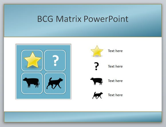 How to create a boston consulting group bcg matrix powerpoint template toneelgroepblik Image collections