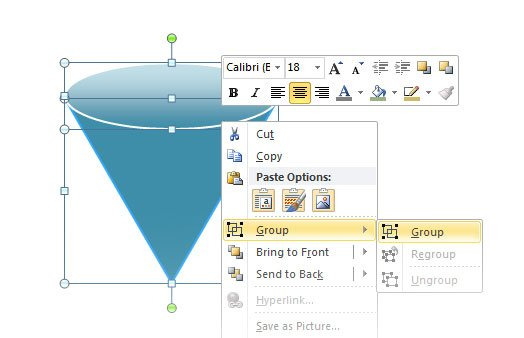 Drawing a 3d cone in powerpoint 3d cone ccuart