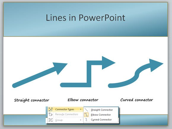 lines powerpoint